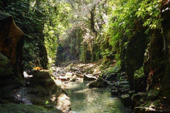 Air Terjun Kanto Lampo Desa Beng Gianyar