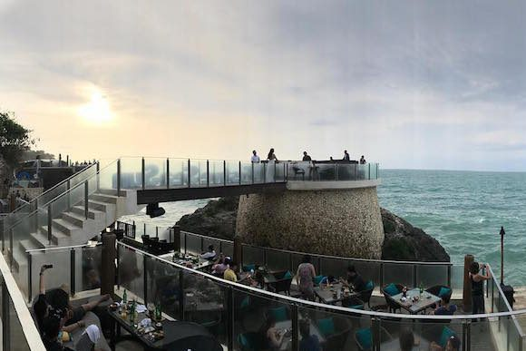 Rock Bar, Jimbaran